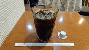 アイスコーヒーでひと休み